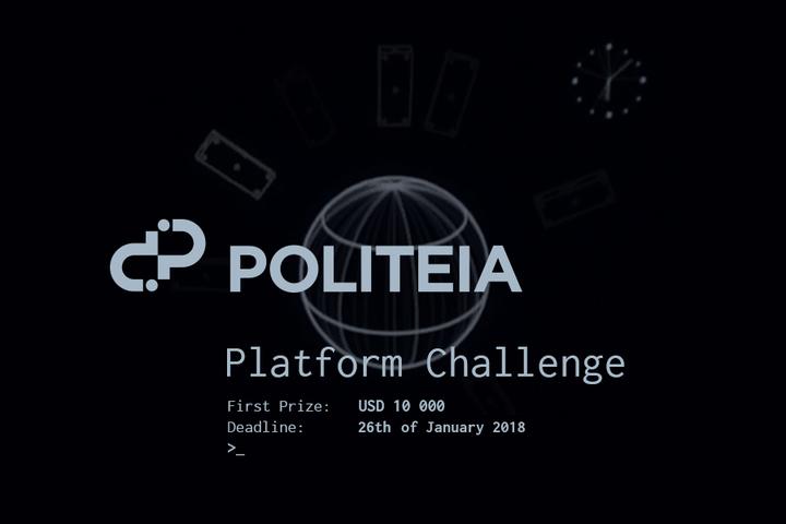 Politeia Platform Challenge
