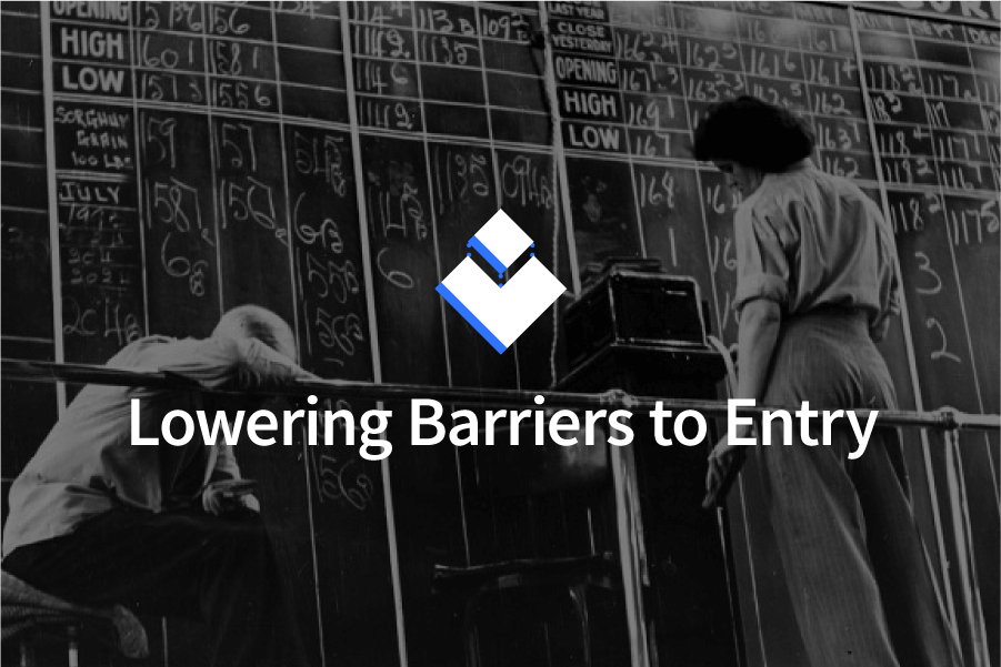 Lowering Barriers to Entry